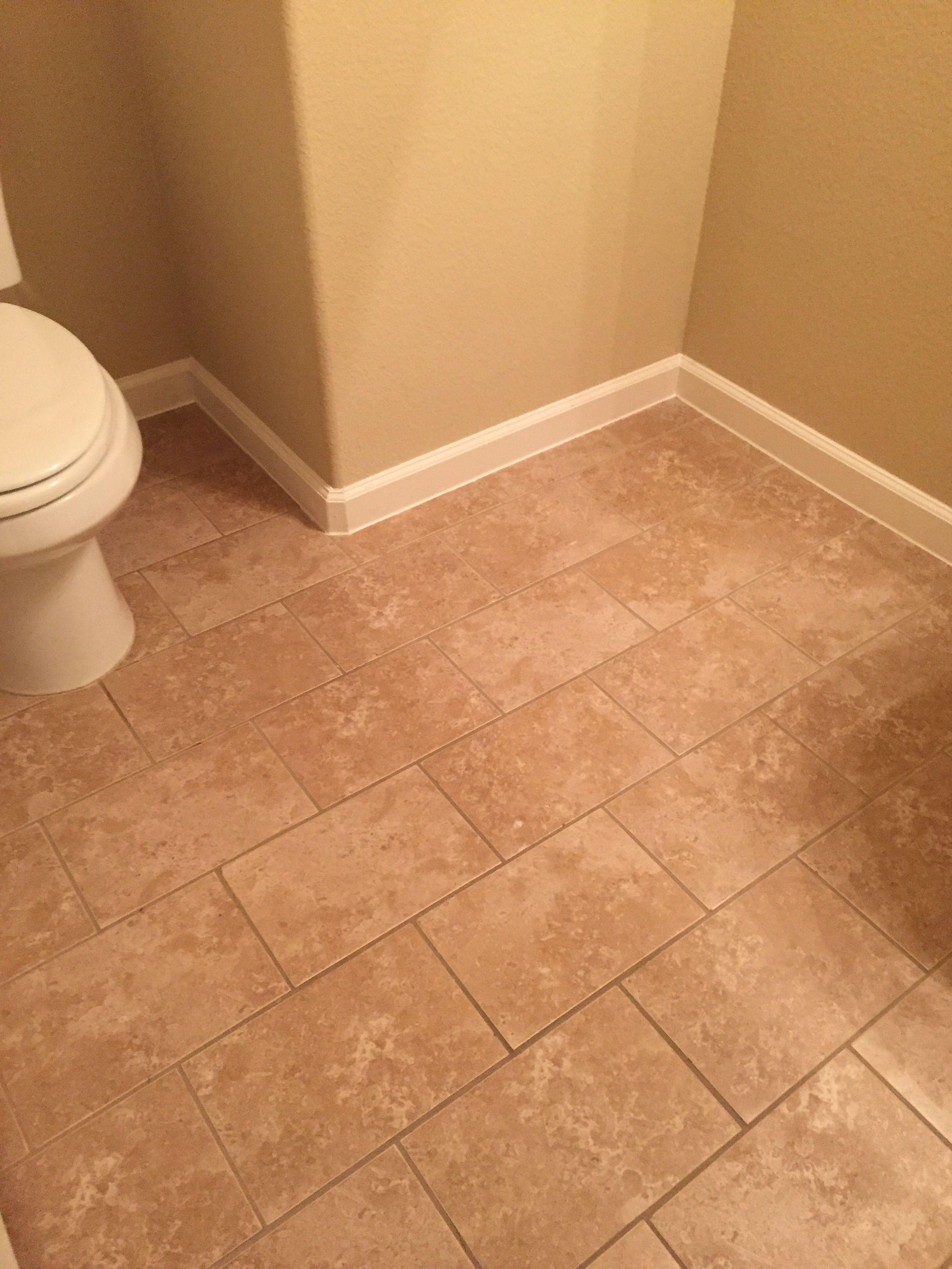 brick lay pattern tile stone flooring