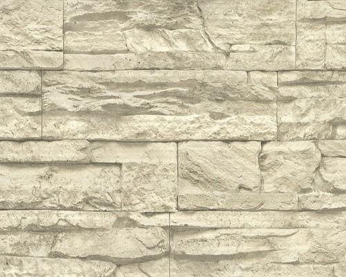 Vliestapete 7071 30 Woodu0027n Stone Bruchstein Beige Bei HORNBACH Kaufen