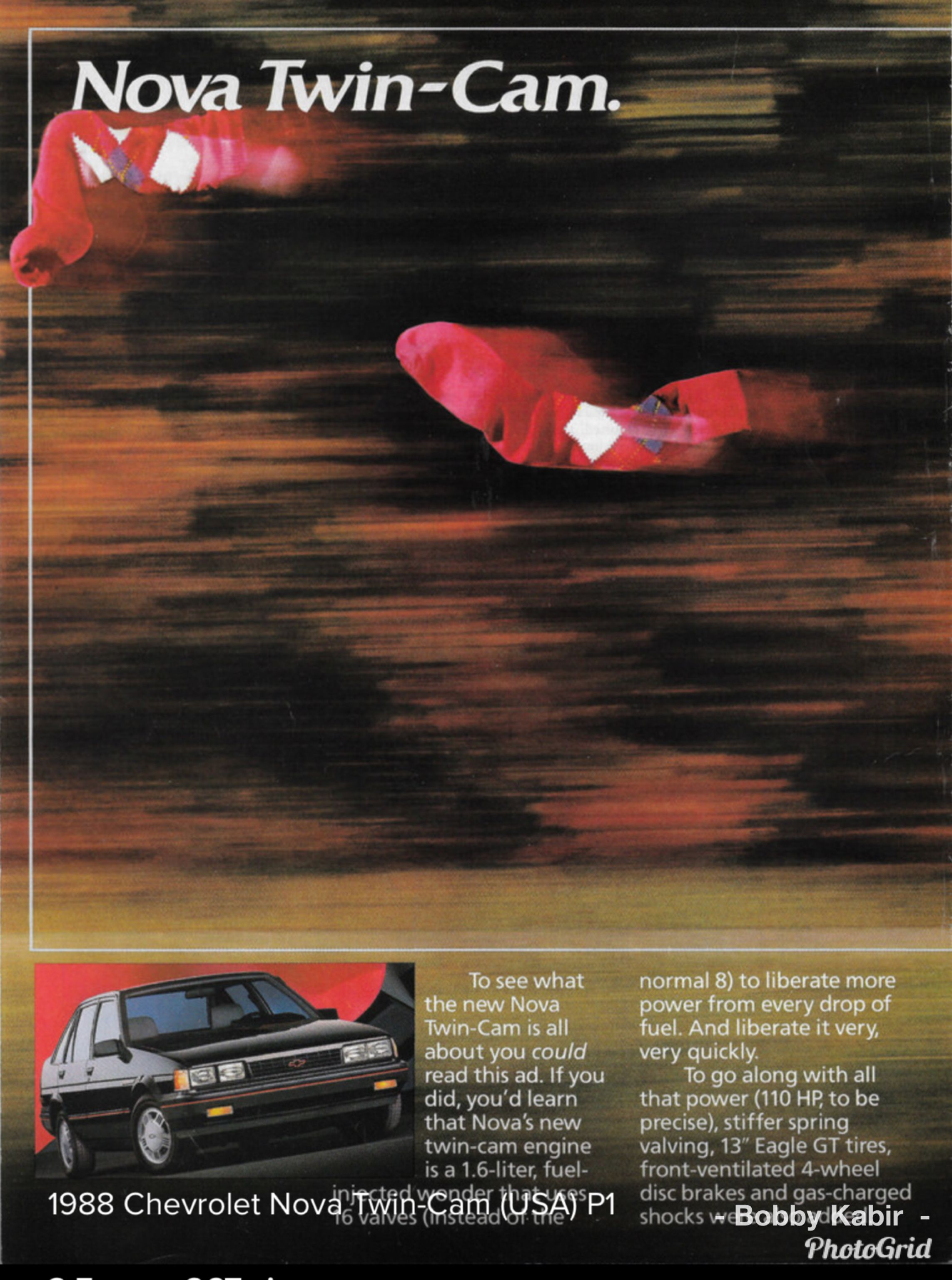 1988 Chevy Nova Twin Cam Re Badged Toyota Corolla Page O N E Of Two By Michael On Flickr Toyota Corolla Chevy Nova Car Ads