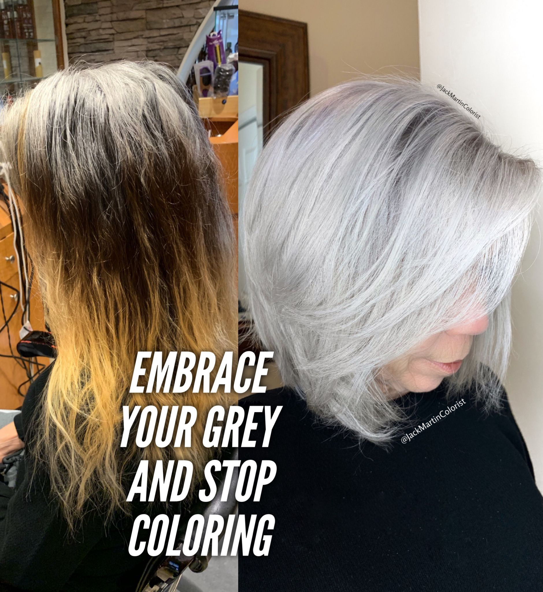 Coloring hair stop gray How Do