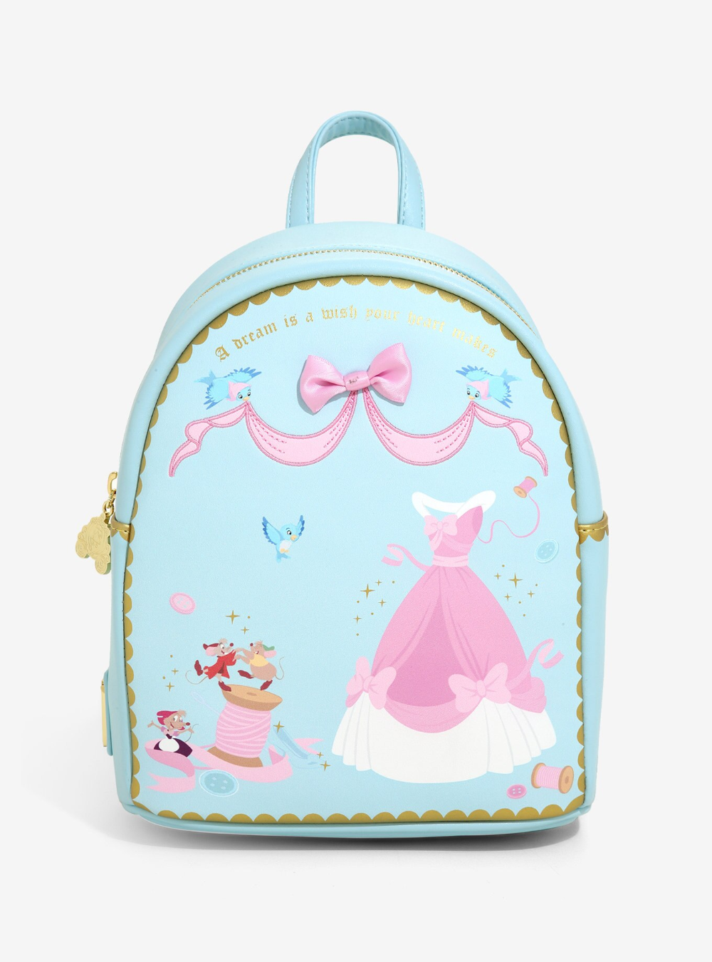 Disney Stitch Holographic Girls Backpack primark new kids small hearts