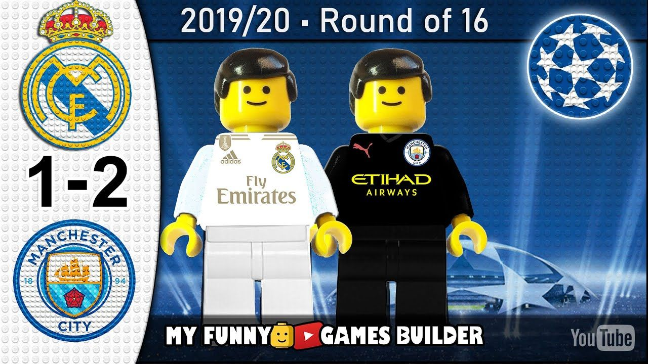 Real Madrid vs Manchester City 12 • Lego Champions League