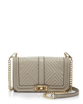 Rebecca Minkoff Geo Quilted Love Crossbody Bloomingdale