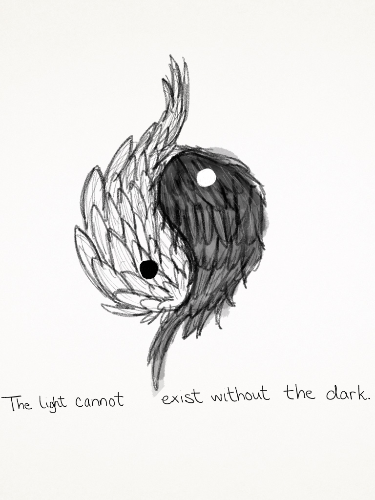 14a347607 Yin and Yang Wings by germanhorn on DeviantArt | tattoos | Yin yang ...