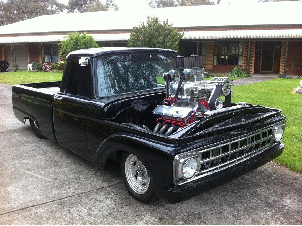 1963 FORD F100 | ** Trick Trucks ** | Pinterest | Ford, Ford trucks ...