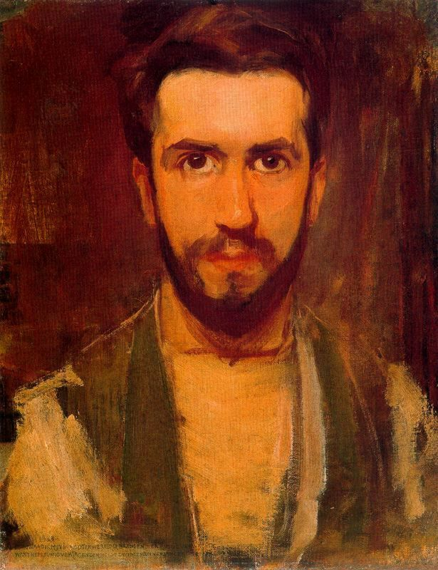 Piet Mondrian | Self-portrait, 1900