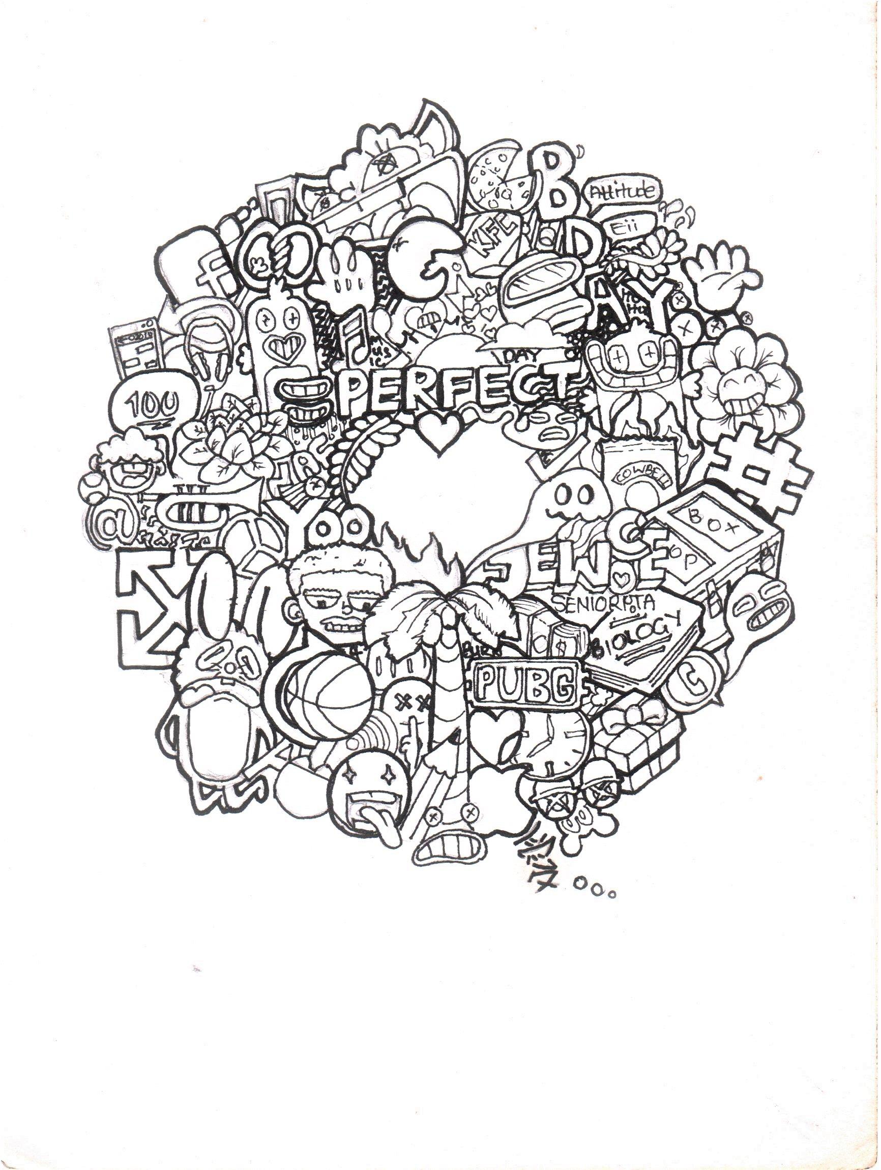 doodling  Doodles, Coloring pages, Doodle art