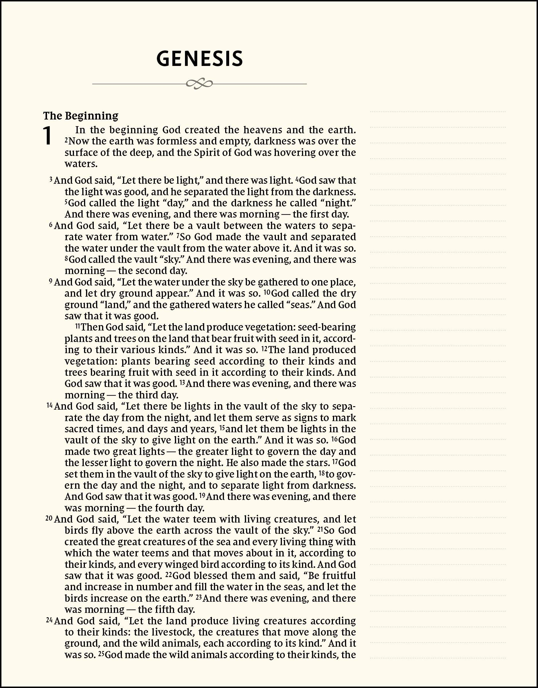 Niv Artisan Collection Bible Cloth Over Board Navy Floral