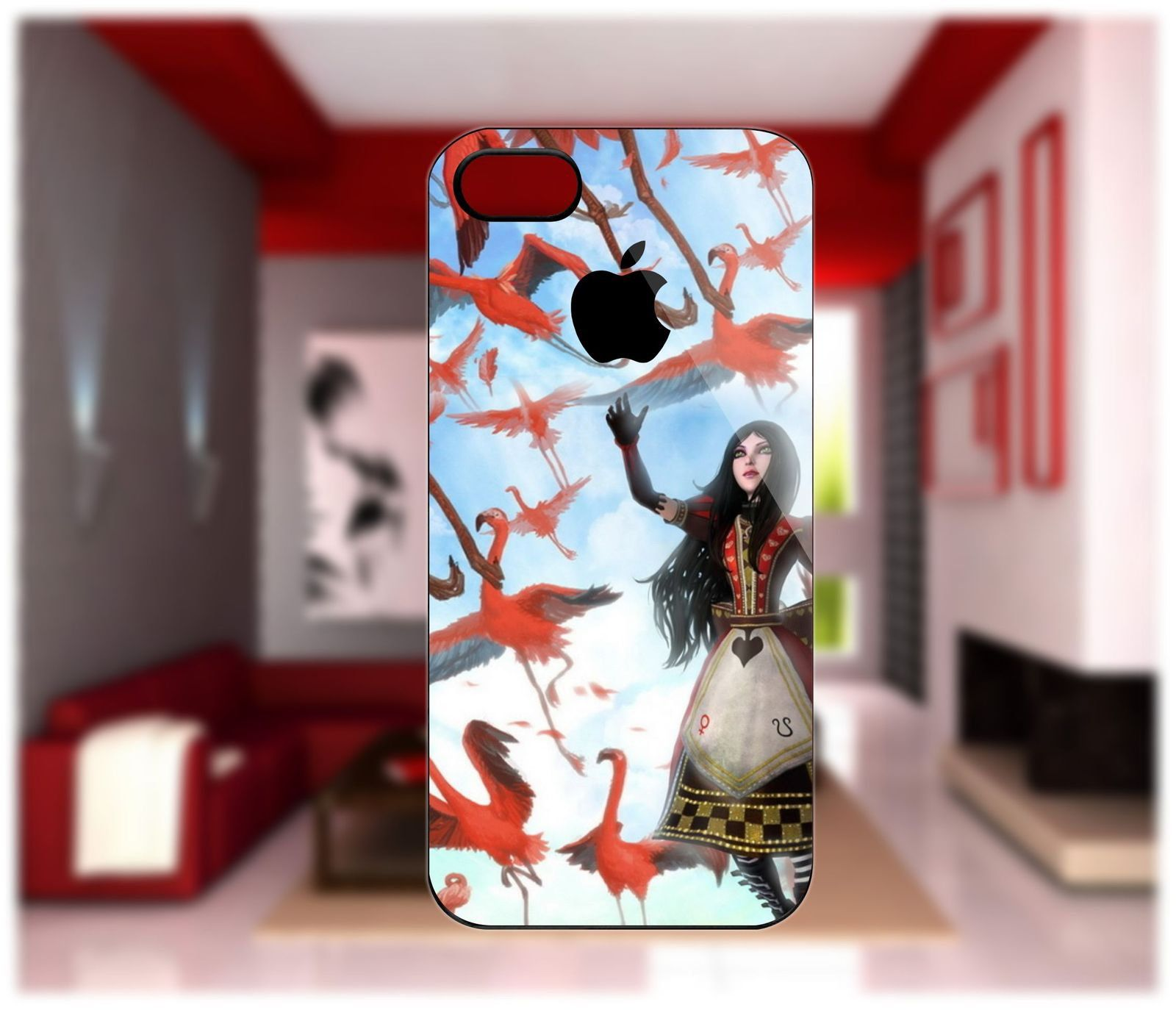 Alice Madness Case For iPhone 5/4/4S Samsung Galaxy S2/S3/S4 Blackberry Z10 #iphone #iphone4 #iphone5 #iphonecase #samsung #samsunggalaxy #galaxy #galaxys2 #galaxys3 #galaxys4 #s4 #s4case #blackberry #blackberryz10 #z10 #z10case #blackberrycase