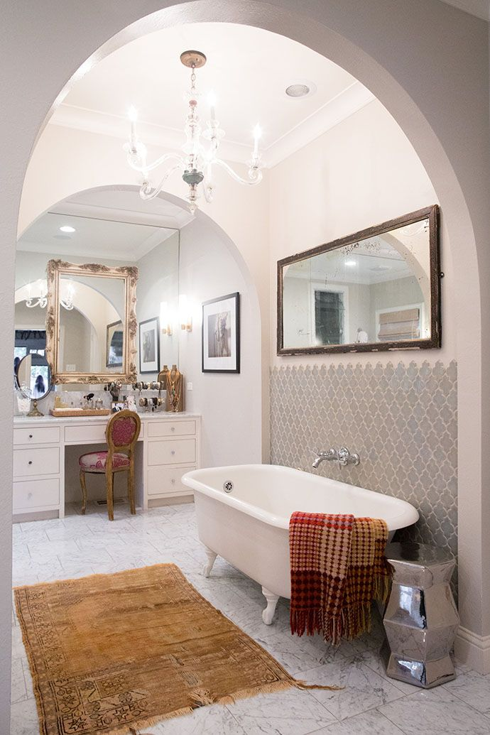Arched openings in the master bathroom Brittany Cobb 94jpg
