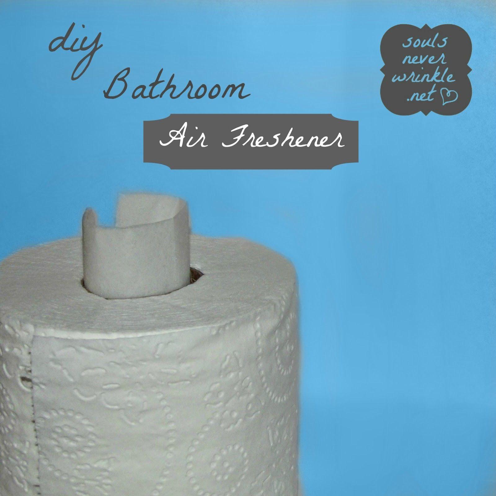 Diy Bathroom Freshener How About Using Fabric Softeners Folded Brilliant Bathroom Air Freshener Decorating Inspiration