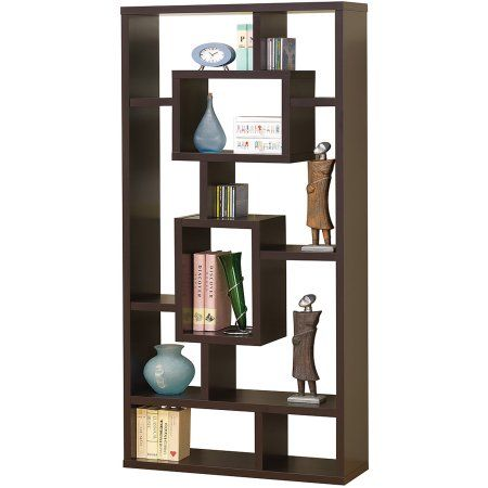 Home Contemporary Bookcase Coaster Furniture Bookcase