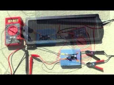 Harbor Freight 1 5 Watt Solar Battery Charger Youtube