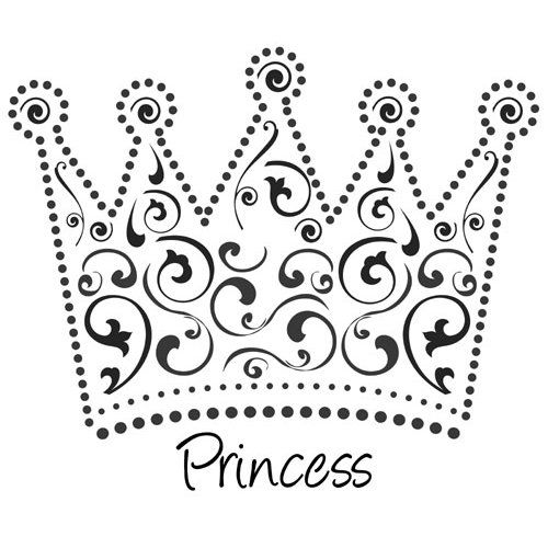 Princess Crown Template Image Search Results cakepins.com