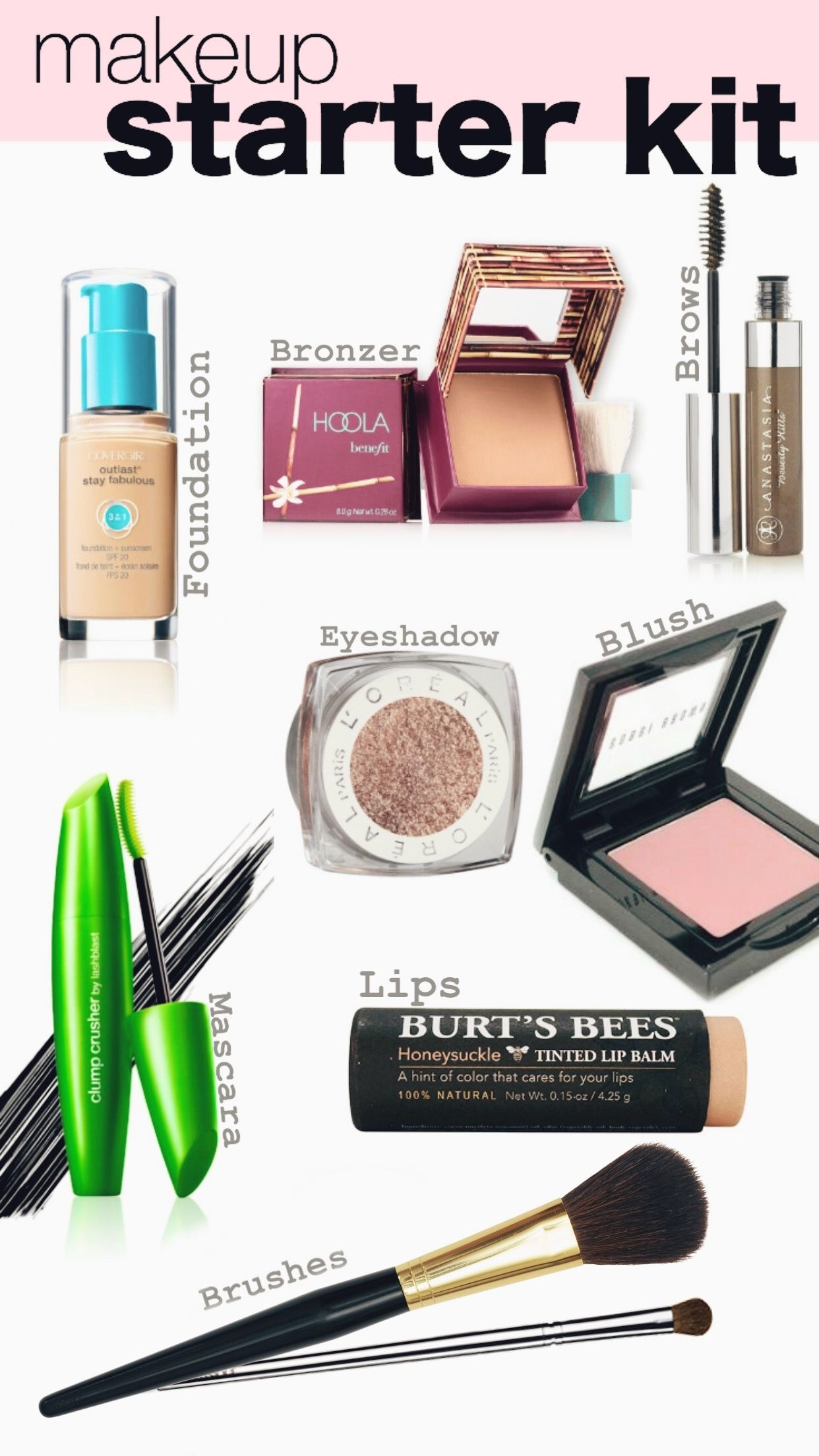 Click to see my go to essentials! Makeup Starter kit