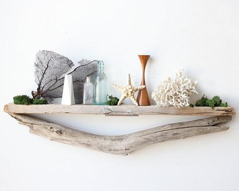 Simple Driftwood Wall Shelf Ideas Driftwood Shelf Driftwood Decor Driftwood Wall Art