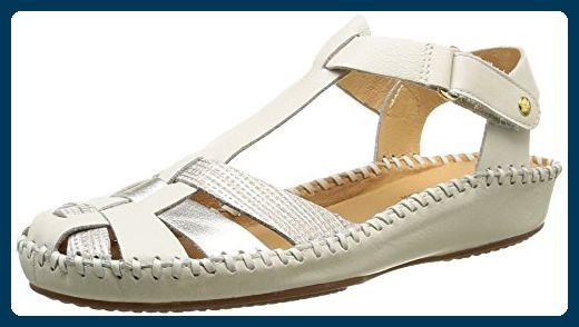 geschlossene sandalen damen weiss