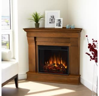Real Flame 5950e E Espresso Chateau 4 780 Btu 1 500w 41 Inch Wide Free Standing Mantel Electric Fireplace With Remote Control In 2021 Corner Fireplace Decor Corner Gas Fireplace Corner Electric Fireplace