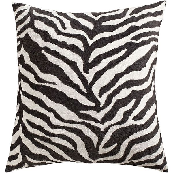 Pier 1 Imports Oversized Zebra Pillow 15 Liked On