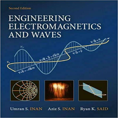 Engineering and Waves 2nd edition by Inan