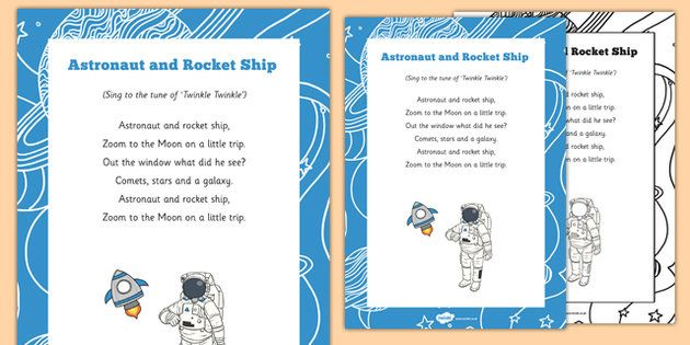 NEW * Astronaut And Rocket Ship Song | What's in the sky