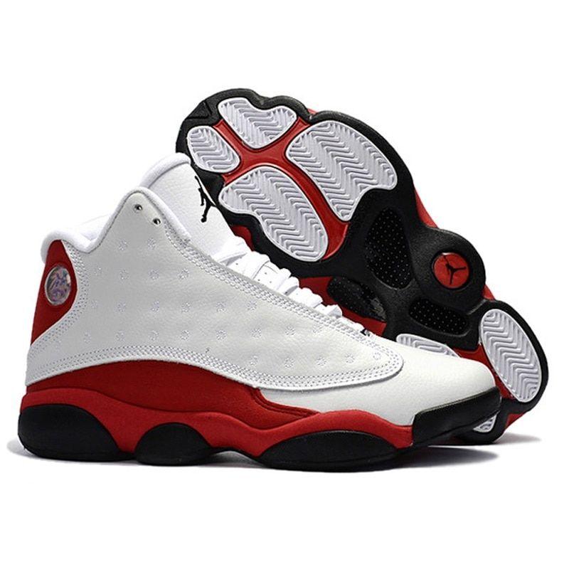 Jordan Air Retro 13 XIII Men bred grey toe He Got Game Basketball ...