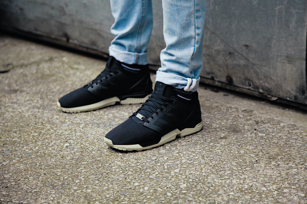 new style 84328 faa2c adidas zx flux tech on feet - Google Search | walk_with_me ...