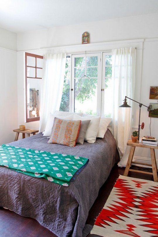 Consejos para colocar tu cama debajo de la ventana   Camas ...