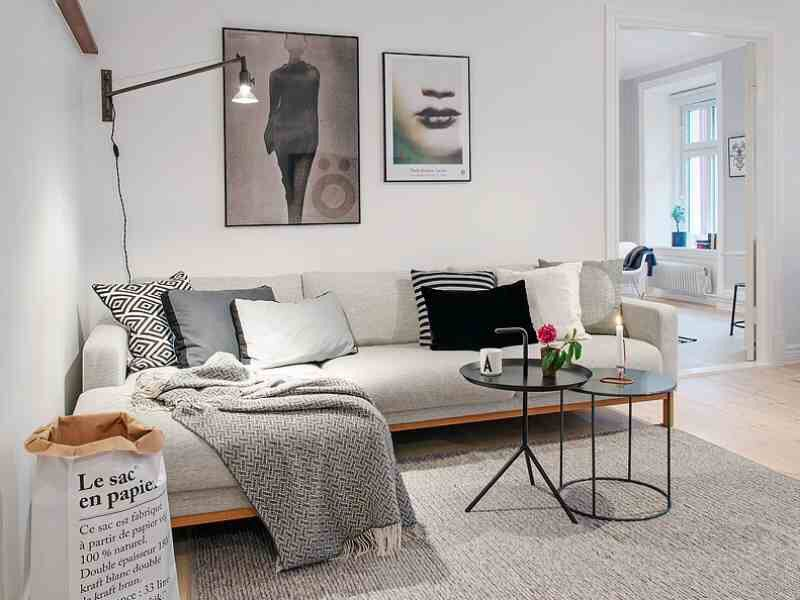 8 Ways To Style Scandinavian Interior Design At Home Living Room