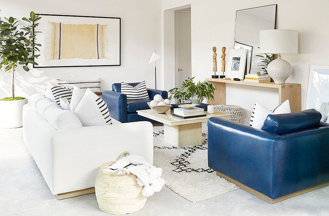 Our Living Room Makeover For A Hip Los Angeles Power Couple Jen