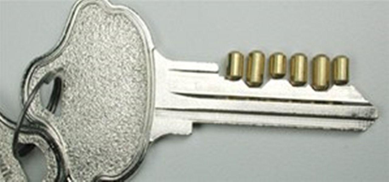 How To Create A Bump Key To Open Any Door Locksmith Lock Picking Tools Master Key