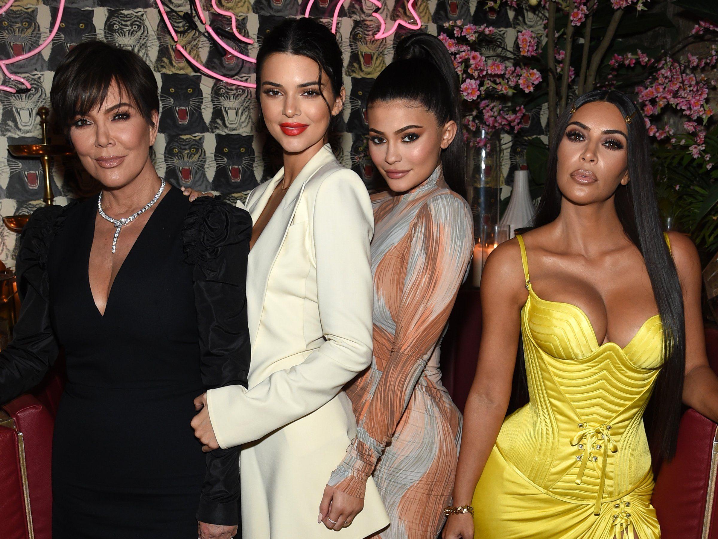Kardashian Jenner Family Members Net Worths Ranked Business Insider Kim Kardashian Kylie Jenner Kardashian Jenner Jenner Family