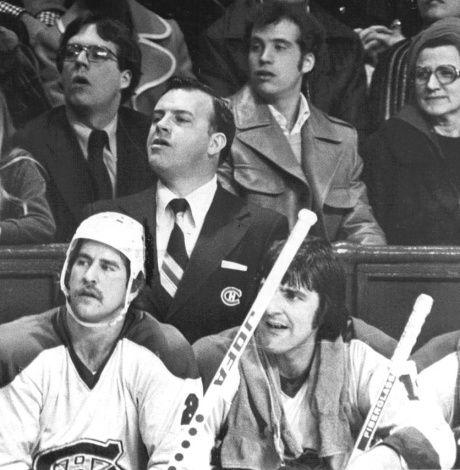 Coach Scotty Bowman Coaching The Montreal Canadiens Nhl Hockey Montreal Canadiens Canadiens