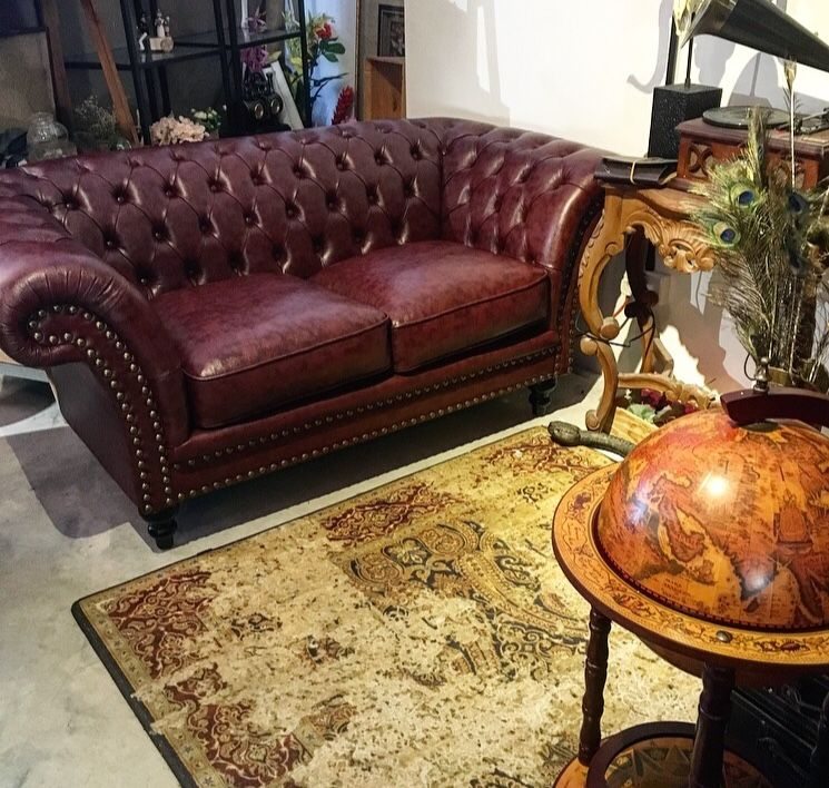 Singapore Vintage Leather Sofa Chesterfield Leather Chesterfield Sofa Vintage Leather Sofa Leather Sofa