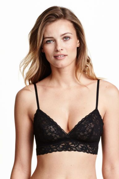 6657afbd49852 2-pack non-wired lace bras  Soft