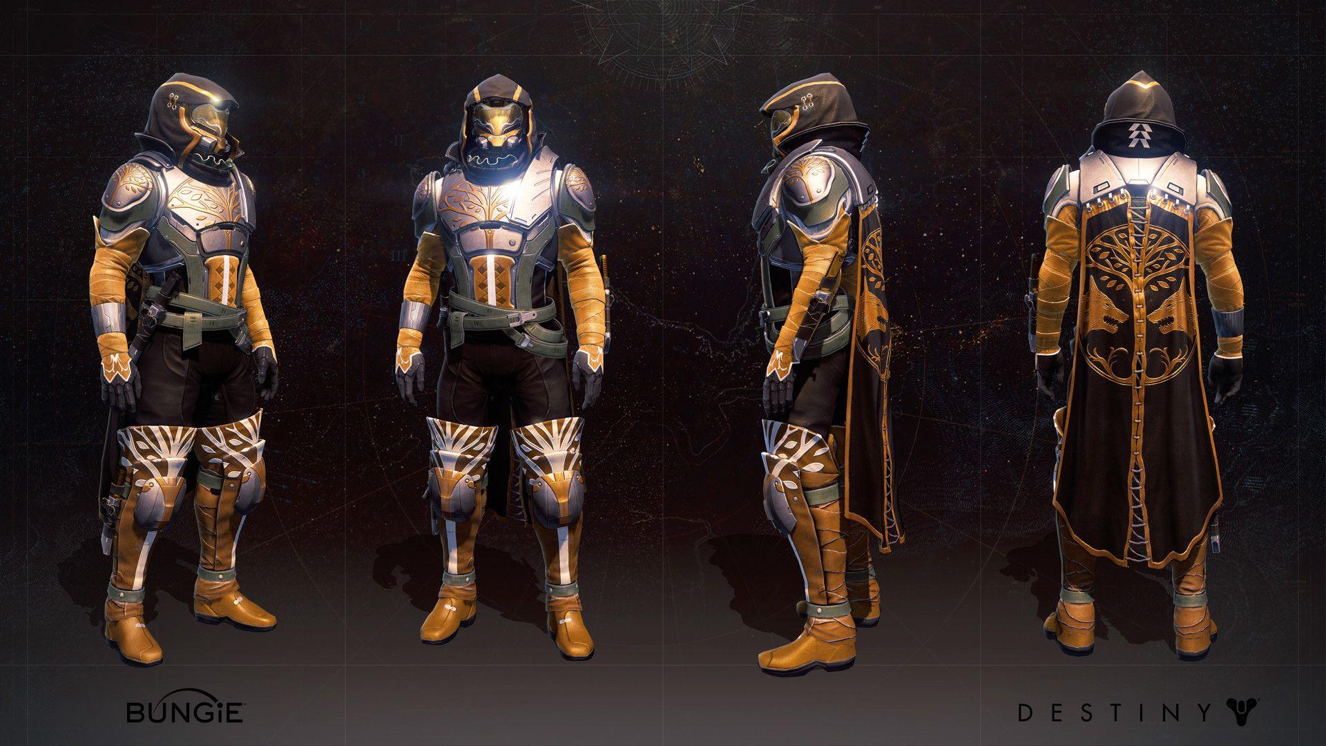 Male Hunter Iron Breed Armor | Bowen's Destiny Costume