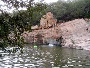 Devils Waterhole Inks Lake State Park Grew Up Camping In