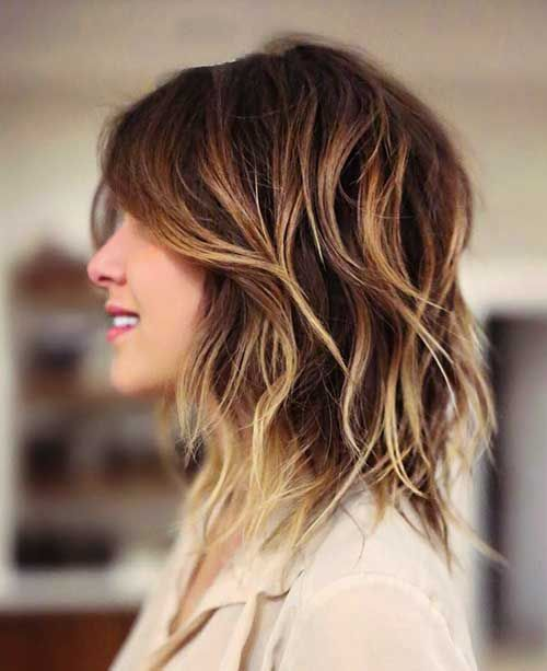 25 Most Superlative Medium Length Layered Hairstyles Haircuts 2018