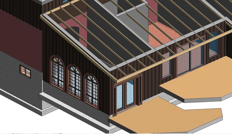 Rafter Framing w Autodesk Revit Extensions | Revit | Frames on wall