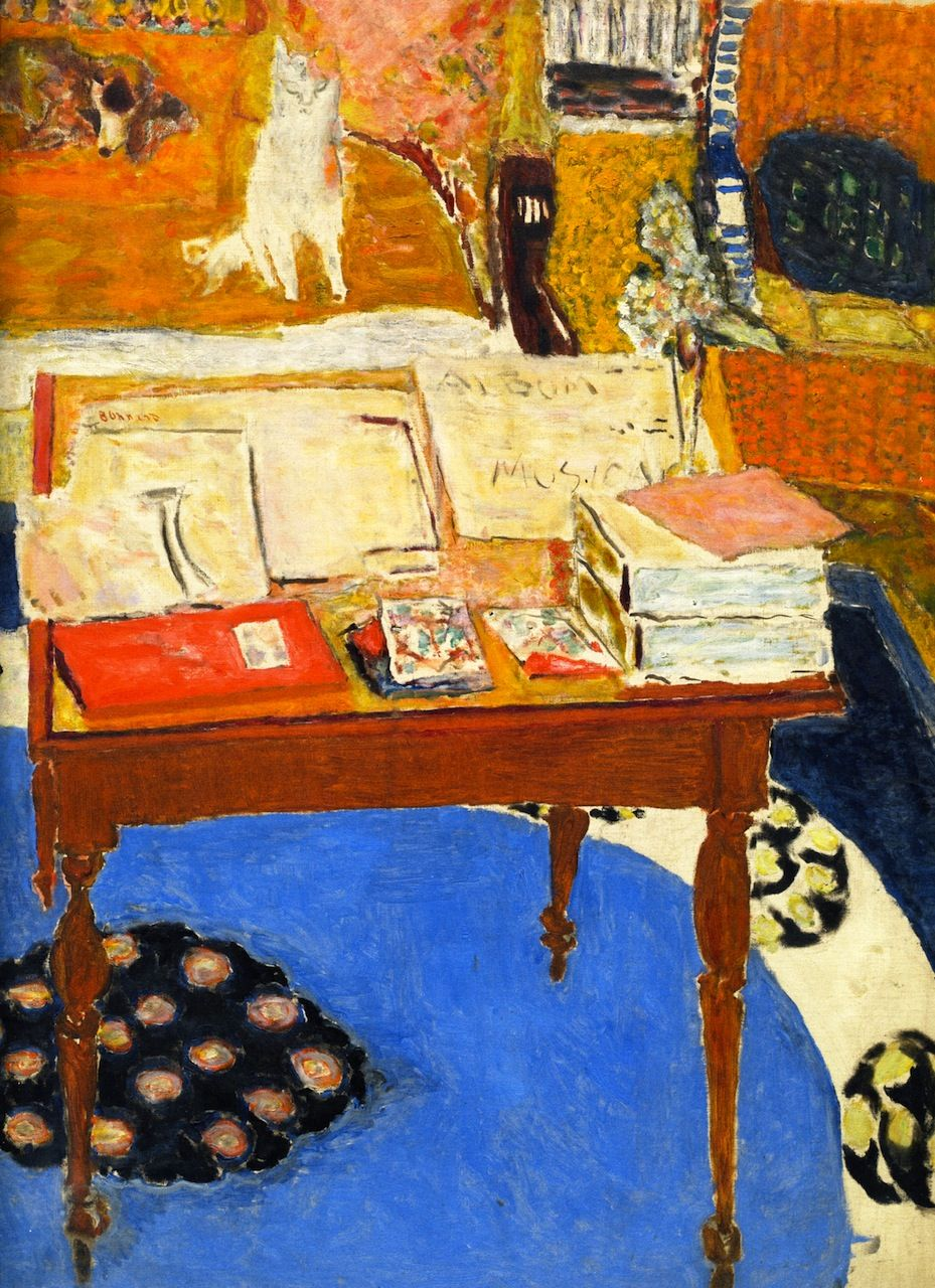 Pierre Bonnard | The work table, 1926