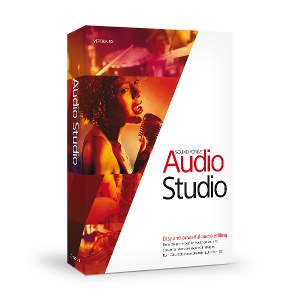 MAGIX Sound Forge Audio Studio 10 0 Crack + Serial Key Free