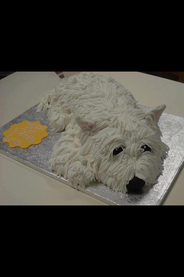 A Westie Cake!