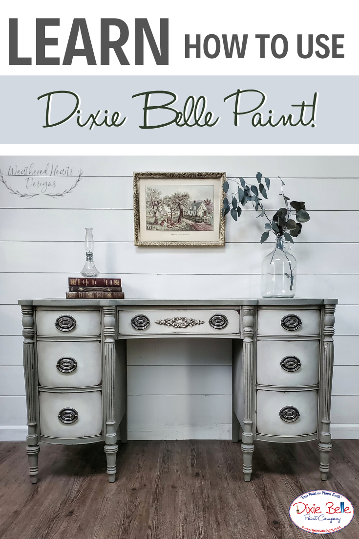 Learn How To Paint With Dixie Belle Paint Refinishing Furniture Diy Dixie Belle Paint Painting Furniture Diy