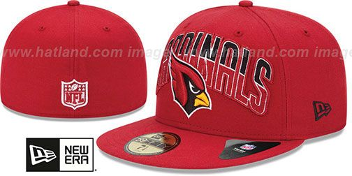 e99cb815e7a Cardinals  NFL 2013 DRAFT  Red 59FIFTY Fitted Hat by New Era on hatland.com