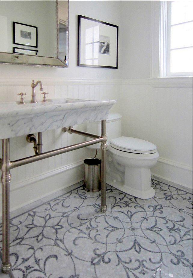 Bathroom Flooring Marabel Stone Mosaic From New Ravenna Mosaics