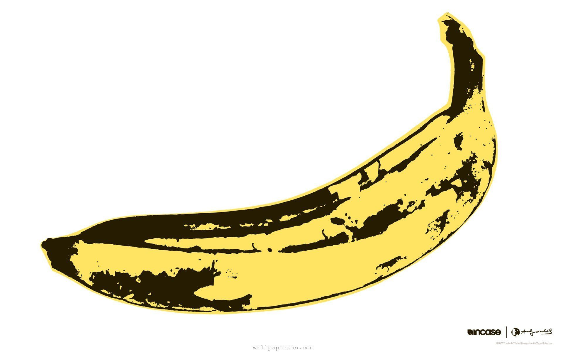 Andy Warhol Banana Widescreen Desktop Mobile Iphone Android Hd Wallpaper And Desktop Andy Warhol Andy Warhol Banana Warhol