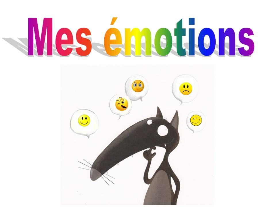 Le Tableau Des émotions Cours De Français Education Wolf