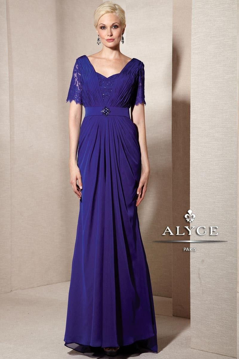 Alyce paris mothers of the bride dress style full shot