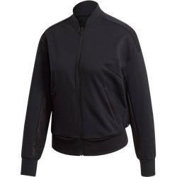 Photo of Adidas Damen Sweatjacke Id Mesh Bomb, Größe S in Black, Größe S in Black adidas
