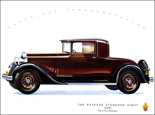 Packard 1931 Standard Eight 2 4 Penger Coupe 500 372